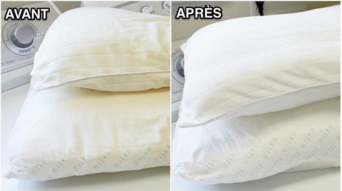 Comment nettoyer un oreiller ?